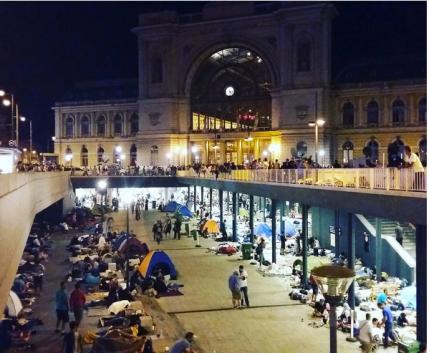 Sstazione Budapest Keleti